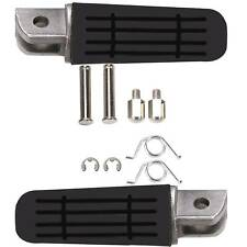 Pair For Universal Motorcycle Motorbike Pedals Front Footrest Foot Pegs Side UK