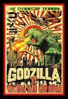 "4.25"" Godzilla Mothra vinyl sticker. Classic movie monster decal for car, laptop"
