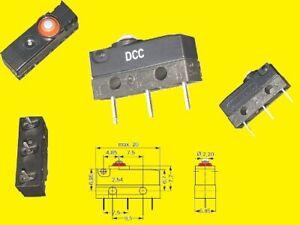 Cherry Miniatur Micro Taster Schalter Switch DCCC 1 x UM 3A 250VAC IP67 2x