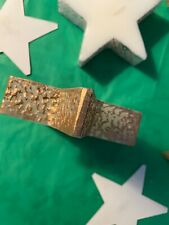 Five*Star Shaped Candles*edged in gold and silverware