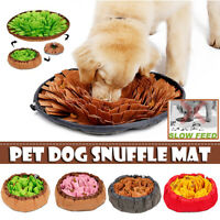 2in1 Dog Snuffle Mat Pet Nose Work Sniffing Training Feeding Pad Cushion Toy