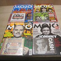 Mojo Magazine 4 Unread Issues Sealed CDs July Oct Nov Dec 2004 John Peel / Cash