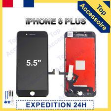 VITRE TACTILE + ECRAN LCD RETINA ASSEMBLÉ SUR CHASSIS POUR IPHONE 8 PLUS NOIR