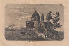 1876 xilografia Superga Torino