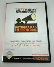 FOTOGRAMAS EN CORTO 2005 - GANADORES Y FINALISTAS - 16 CORTOMETRAJES