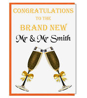 Rachel Ellen Designs Gay Lesbian Wedding Card Mrs /& Mrs