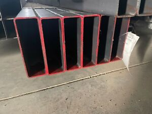 "Steel Rectangular Tubing 2""X 6"" X .125"" 12"" Piece"