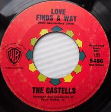 THE CASTELLS doowop pop 45 Love Finds A Way / Tell Her If I Could STRONG VG F706
