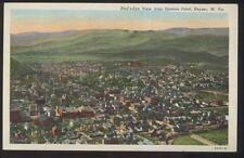 Postcard KEYSER West Virginia/WV  Town Area Bird's Eye Aerial view 1930's