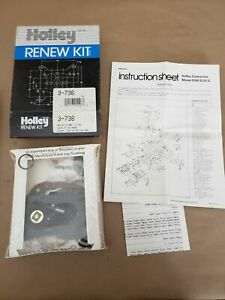 Holley Renew Carburetor Rebuild Kit 3-736 NOS