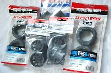 TAMIYA 1:10 RC Car F.m.Tire(53340) + Wheel(53341) + Inner(53255) set (M-chassis)