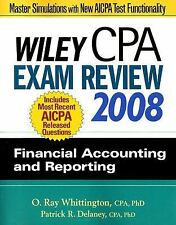 Wiley CPA Exam Review 2008: Financial Accounting and Reporting (Wiley -ExLibrary
