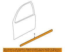 VW VOLKSWAGEN OEM 99-05 Jetta FRONT DOOR-Body Side Molding Left 1J4853515GGRU