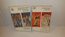 Lot (2) Byzantine and Early Medieval Painting Romanesque Painting Books 1965 63