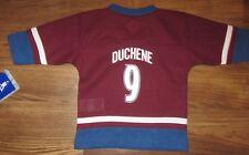 NEW NHL Colorado Avalanche Steve Duchene Infant Jersey, Red, Size 18M