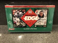 1992 Collector's Edge Football Rookie Update Sealed Box - Ronnie Lott Auto???