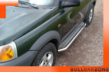LAND ROVER FREELANDER 1998-2003 MARCHE-PIEDS INOX PLAT / PROTECTIONS LATERALES