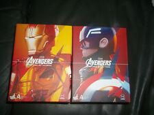 Avengers Age of Ultron Captain America & Iron Man MARk XLIII Artist Mix Hot Toys
