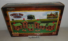 NEW MAXIM TUMBLE TREE TIMBERS WOOD 450 PC LINCOLN LOGS COMPATIBLE WOODEN SET LOG