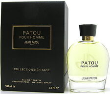 Jean PATOU POUR HOMME Collection Heritage 100 ML EDT SPRAY