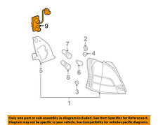 TOYOTA OEM 09-11 Yaris Taillight Tail Light Lamp Rear-Socket & Wire 8155552780