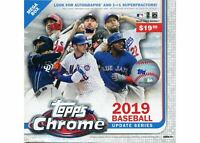 2019 Topps Chrome Update Mega Box  poss RC's  Yaz, Biggio, Guerrero Jr, Tatis Jr