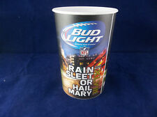 Dynamic Drinkware Bud Light Super Bowl XLVIII NY NJ NOS Plastic Beer Cup