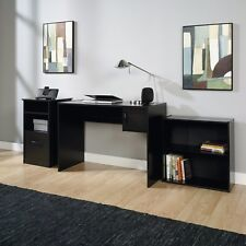 Black Home Desk ON SALE NOW! Mainstays 3-Piece Office Set, Black(contemporary)