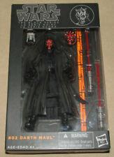 "Star Wars The Black Series #02 Darth Maul - Genuine Hasbro 6"" Figure NEW SEALED"