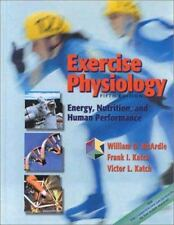 Exercise Physiology: Energy, Nutrition, and Human Performance, McArdle BS  M.Ed