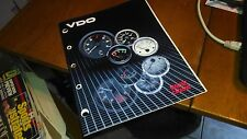 VDO GAUGES MASTER CATALOG AND PRICE LIST FROM 1985