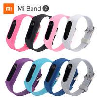 220mm Ersatz Silikon Handgelenk Armband Sport Band Armband Für Xiaomi Mi Band 2
