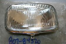 nos vintage Yamaha snowmobile headlight lens 1969 sl396 807-84310 807-84320