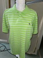 MENS LACOSTE Green POLO T-SHIRT SIZE Large 4 100% AUTHENTIC GREAT CONDITION