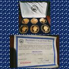 Collectors Mint 24k Gold Double Eagle Proof Collection Barry Goldwater COA