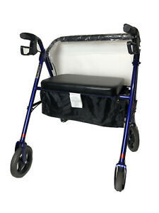 Invacare Bariatric Rollator, with Flip-up Padded Seat