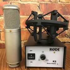 """Rode K2 Variable Pattern Dual 1"""" Condenser Tub Microphone *Perfect Condition*"""