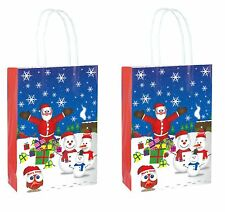 Christmas Gift Bags Party Celebration Children Santa Party - Pack 2