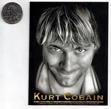 KURT COBAIN new vinyl Sticker/Decal nirvana rock music band car bumper