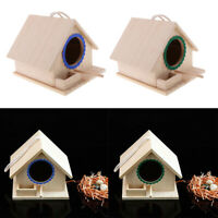 Bird House Attracts small birds like Finch, Parakeet Lovebirds 2 Pack