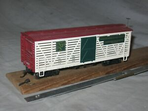 A5524 On30 BACHMANN NORTH POLE & SOUTHERN RR CHRISTMAS REINDEER WOOD STOCK CAR