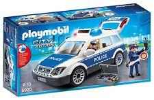 Playmobil 6920 City Action Voiture de police avec lumières et sons