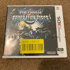 Nintendo 3DS game - Metroid Prime Federation Force - Brand New And Sealed