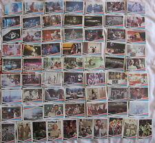SPACE 1999 SERIE COMPLETE CARTES BUBBLE GUM DONRUSS USA 1976  GERRY ANDERSON