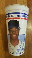 Ken Griffey Jr. ICEE Cup Seattle Mariners MLB Baseball WOW RARE 1991 1992 Stats