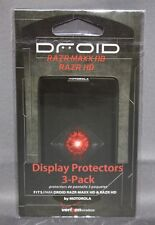 Display / Screen Protectors for MOTOROLA DROID RAZR MAXX HD & RAZR HD (Qty=3)