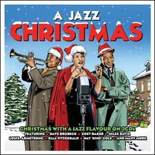 A JAZZ CHRISTMAS feat LOUIS ARMSTRONG, MILES DAVIS,ELLA FITZGERALD  2 CD NEUF