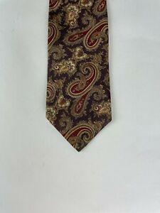 PRIDE OF ENGLAND -  Paisley Multi-Colored Tie in Rhodia