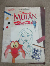 How to Draw Disney's Mulan by Walter Foster - Art Instruction Book