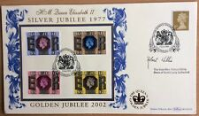 5.6.2002 Queen's Golden Jubillee FDC signed ROBERT WILLIS, Canterbury Cathedral